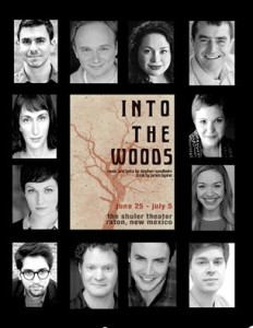 INTO THE WOODS part of Shuler Professional Summer