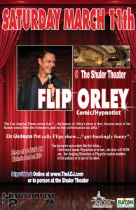 Flip Orley  Comic/Hypnotist