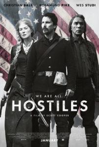 Hostiles - Feb. 1, 2, 4 @ 7pm