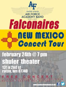 AFA Falconaires Set for Feb. 24